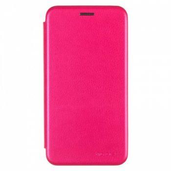 Чехол книжка из кожи G-Case Ranger для Samsung A750 (A7-2018) розовый