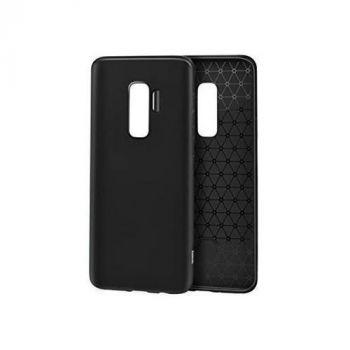 Черный силиконовый чехол накладка UltraSlim для Samsung S9