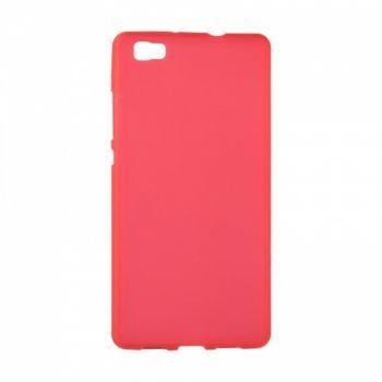 Оригинальная силиконовая накладка для Huawei Y7 красный