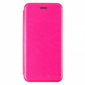 Чехол книжка из кожи Ranger от G-Case для Xiaomi Redmi Note 6 Pro Pink