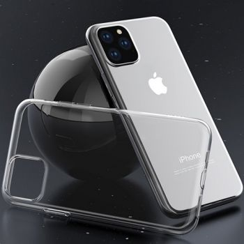 Ультратонкий прозрачный чехол накладка Clear для iPhone 11