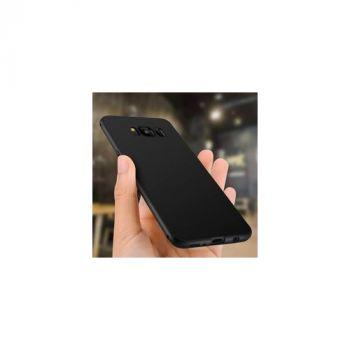 Оригинальная силиконовая накладка для Samsung S8 Plus черный