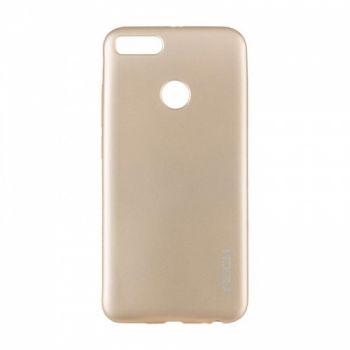 Плотный силиконовый чехол Matte от Rock для Xiaomi Redmi Note 5/5 Pro золото