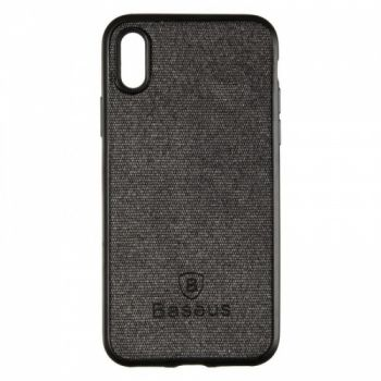 Стильная мужская накладка Skill Case от Baseus для iPhone XS Max черный