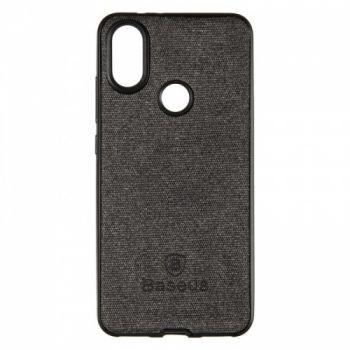 Стильная мужская накладка Skill Case от Baseus для Xiaomi Redmi Note 6 Pro Black