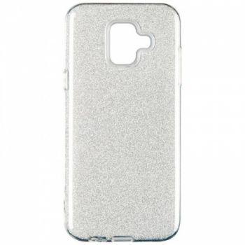Чехол с блесками Glitter Silicon от Remax для Xiaomi Redmi Note 6 Pro Silver