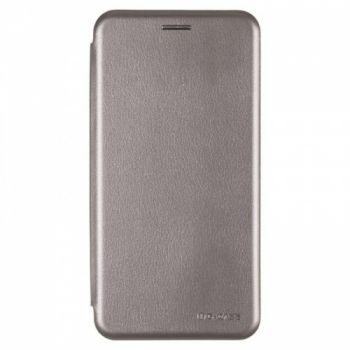 Чехол книжка из кожи Ranger от G-Case для Meizu M6 Note серый