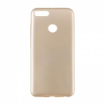Плотный силиконовый чехол Matte от Rock для Xiaomi Redmi Note 4x золото