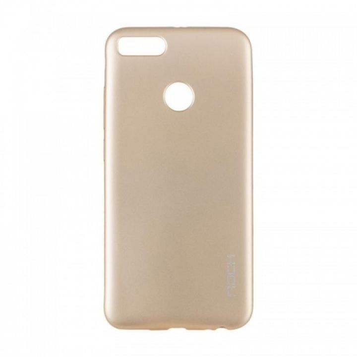 Плотный силиконовый чехол Matte от Rock для Xiaomi Redmi Note 5a Prime золото