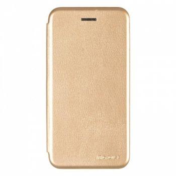 Чехол книжка из кожи Ranger от G-Case для Huawei Nova Lite золото