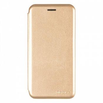 Чехол книжка из кожи Ranger от G-Case для Huawei P20 Lite золото