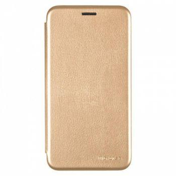Чехол книжка из кожи Ranger от G-Case для Huawei Y3 золото