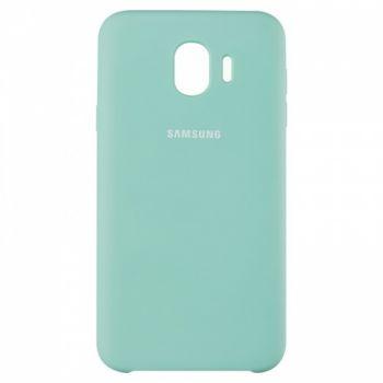 Оригинальный чехол накладка Soft Case для Samsung A750 (A7-2018) Ocean Mint