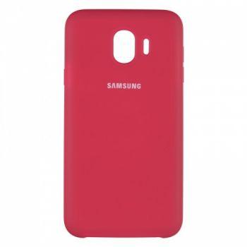 Оригинальный чехол накладка Soft Case для Samsung J415 (J4 Plus) бордо