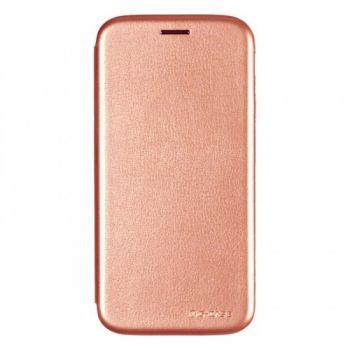 Красивый розовый чехол пенал Lux для Samsung Galaxy S7