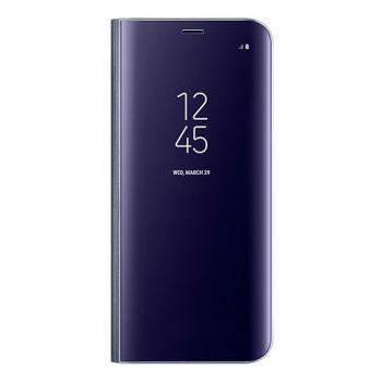 Фиолетовый чехол книжка под оригинал для Samsung Galaxy S10e