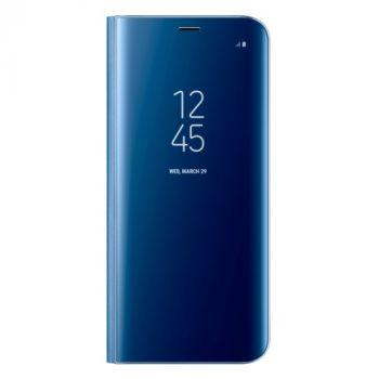 Синий чехол книжка под оригинал для Samsung Galaxy Note 8