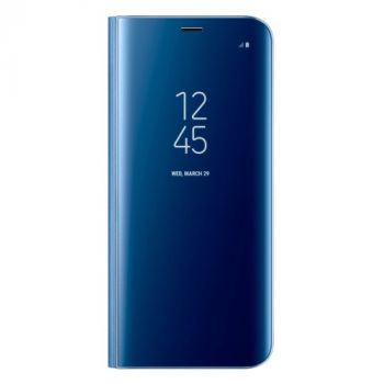 Smart Clear синий чехол книжка под оригинал Samsung Galaxy S9