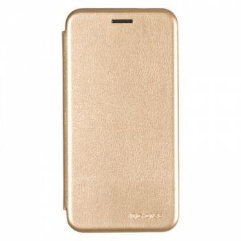 Чехол книжка из кожи G-Case Ranger для Samsung J700 (J7) золотой