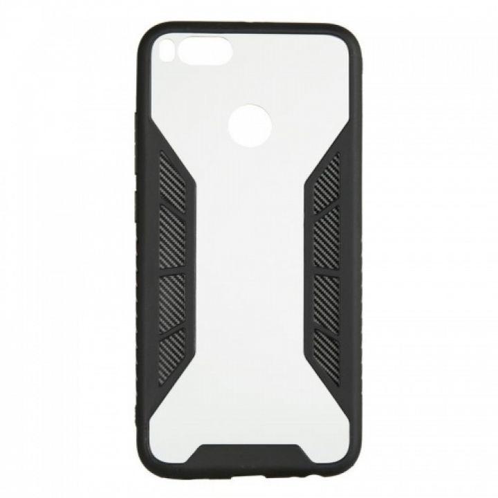 Черный защитный бампер Carbon Fiber от iPaky для Xiaomi Redmi 4x