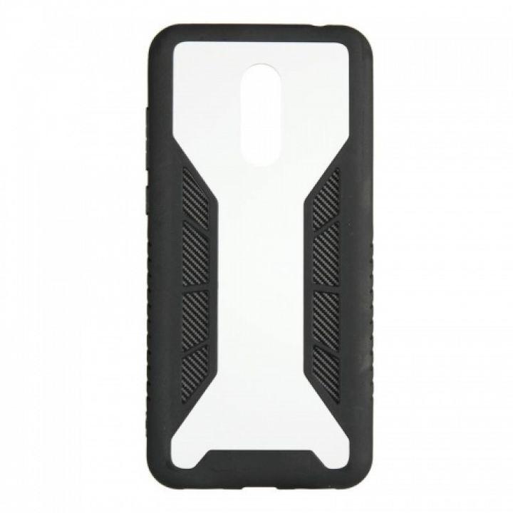 Черный защитный бампер Carbon Fiber от iPaky для Xiaomi Redmi 5 Plus