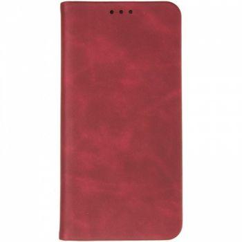Чехол книжка из кожи Sky от Gelius для Samsung J610 (J6 Plus) бордо