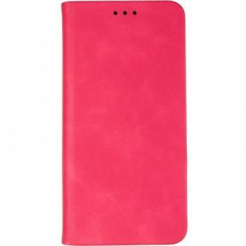 Чехол книжка из кожи Sky от Gelius для Samsung J610 (J6 Plus) Hot розовый