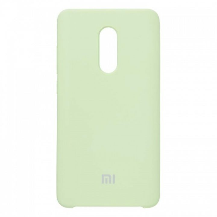 Оригинальный чехол накладка Soft Case для Xiaomi Redmi 5a Lime