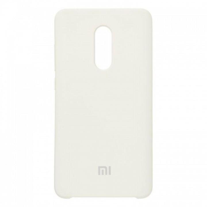 Оригинальный чехол накладка Soft Case для Xiaomi Redmi 5a серый