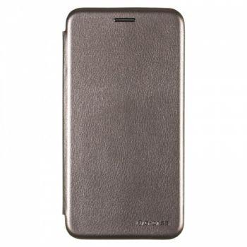 Чехол книжка из кожи Ranger от G-Case для Huawei Y5 (2018) серый