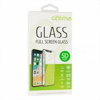 Защитное стекло Optima 5D for iPhone XS Max (R-Design) черный