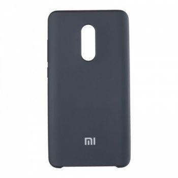 Оригинальный чехол накладка Soft Case для Xiaomi Redmi Note 5/5 Pro черный