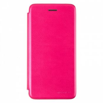 Чехол книжка из кожи G-Case Ranger для Huawei Y6 (2019) розовая