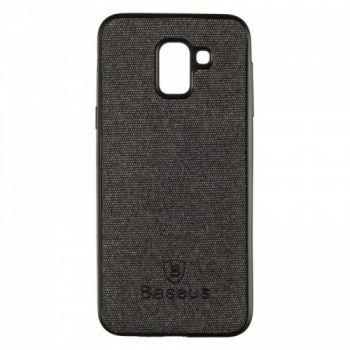 Стильная мужская накладка Skill Case от Baseus для Samsung J600 (J6-2018) черный