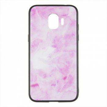 Силиконовая накладка с принтом от iPaky для Samsung J530 (J5-2017) розовый