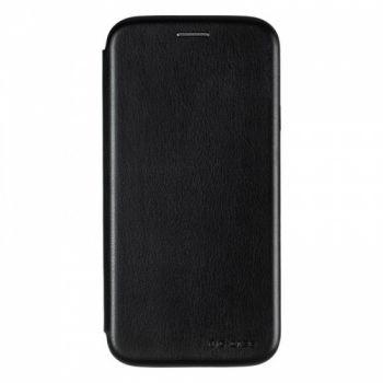 Чехол книжка из кожи G-Case Ranger для Samsung J730 (J7-2017) черный
