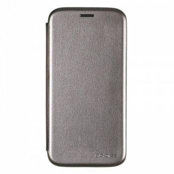 Чехол книжка из кожи G-Case Ranger для Samsung J730 (J7-2017) серый