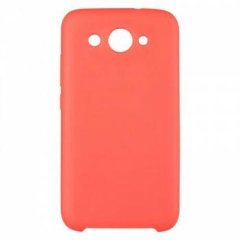 Оригинальный чехол накладка Soft Case для Huawei Y7 Prime (2018) красный