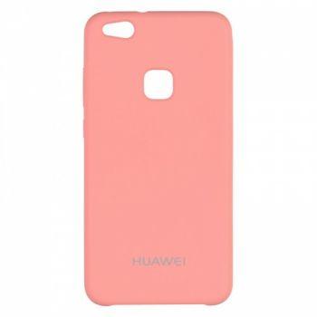 Оригинальный чехол накладка Soft Case для Huawei Honor 7x розовый