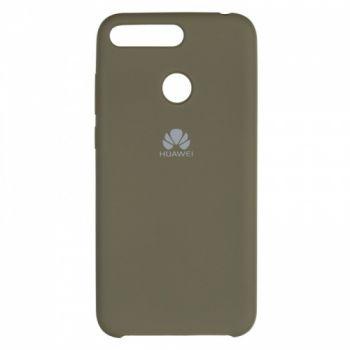 Оригинальный чехол накладка Soft Case для Huawei Y5 (2018) Olive зеленый