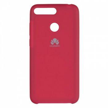 Оригинальный чехол накладка Soft Case для Huawei P Smart Plus/Nova 3i бордо