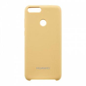 Оригинальный чехол накладка Soft Case для Huawei P Smart Plus/Nova 3i золото