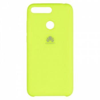 Оригинальный чехол накладка Soft Case для Huawei P Smart Plus/Nova 3i Lime