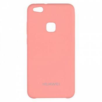 Оригинальный чехол накладка Soft Case для Huawei P Smart Plus/Nova 3i розовый красный
