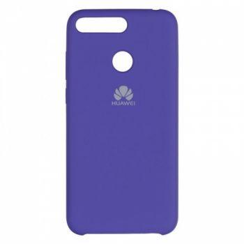 Оригинальный чехол накладка Soft Case для Huawei P Smart Plus/Nova 3i фиолетовый
