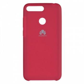 Оригинальный чехол накладка Soft Case для Huawei Honor 9 Lite бордо