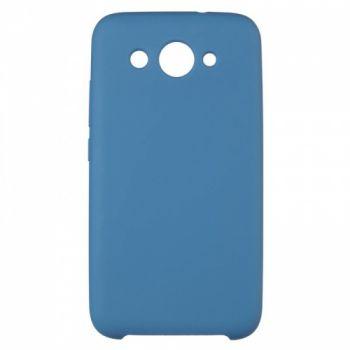 Оригинальный чехол накладка Soft Case для Huawei Honor 9 Lite темно-синий