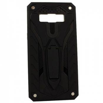 Бронированный чехол накладка Cavalier от iPaky для Samsung S8 Plus черный