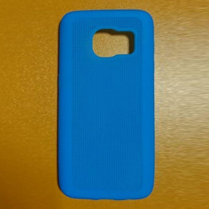 Роскошный чехол бампер Magnific для Samsung Galaxy S7 blue