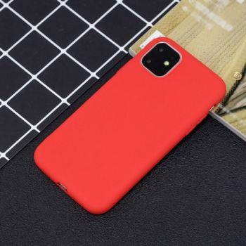 Тонкий чехол накладка от SMTT для iPhone 11 Pro Max красный